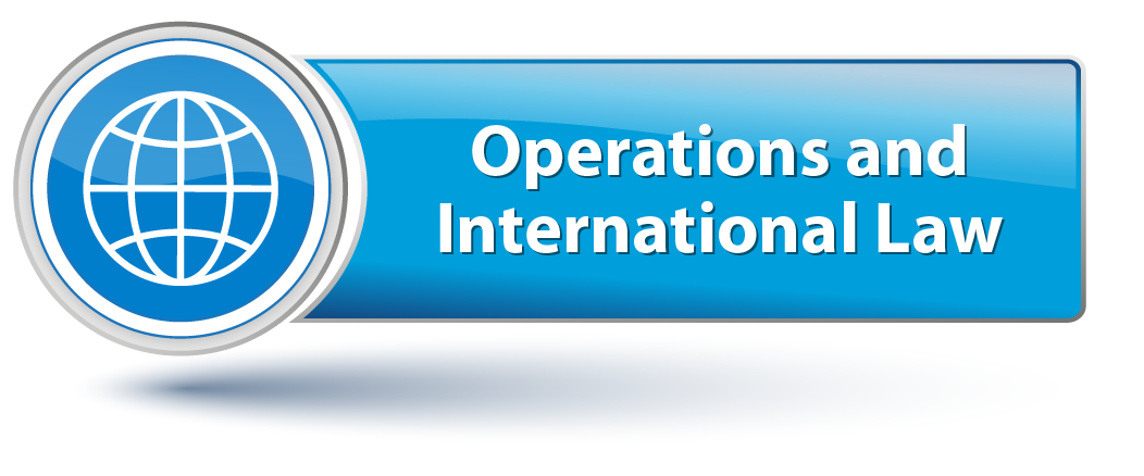 Operations and International Law domain